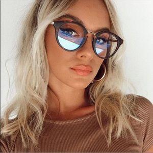 Quay bluelight glasses gotta run oversized